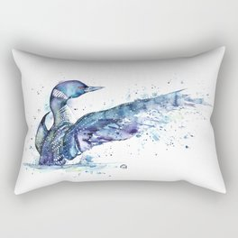 Loon - My Fathers Loon Rectangular Pillow