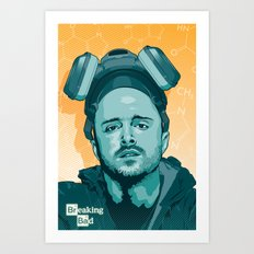 Breaking Bad - Jesse Art Print