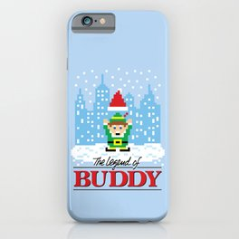 The Legend of Buddy iPhone Case