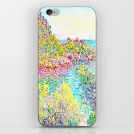 MONET : Landscape Near Montecarlo iPhone Skin