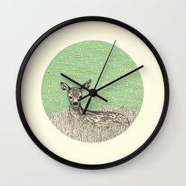 A deer Wall Clock