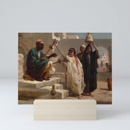 Frederick Goodall - The Song of the Nubian Slave [1863] Mini Art Print