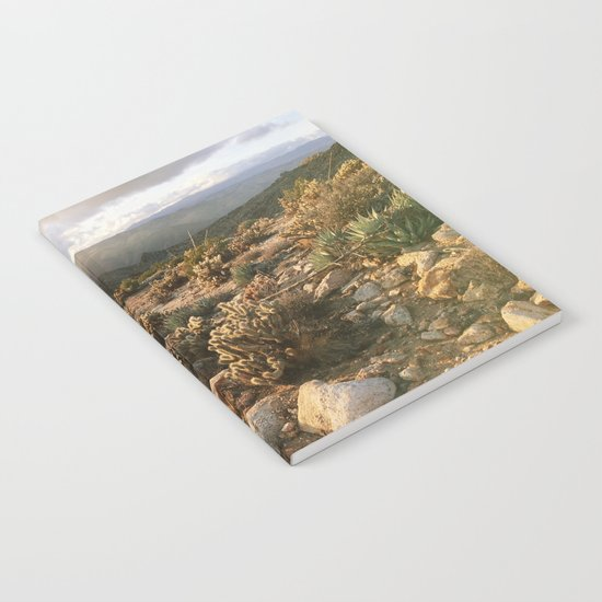 Borrego Desert Sunset Notebook