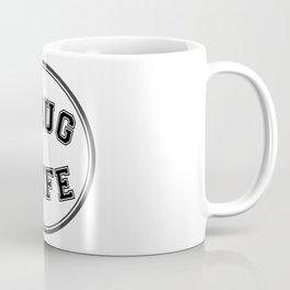 THUG WIFE, circle Coffee Mug