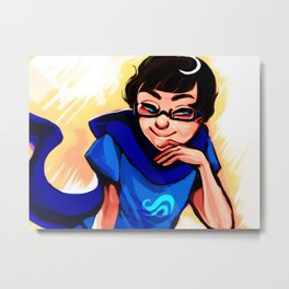 Mischievous Child Metal Print