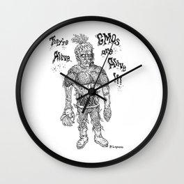 GMO-kenstein Wall Clock