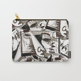 Silver Look Carry-All Pouch