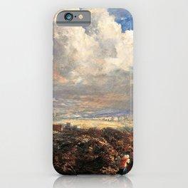 Samuel Palmer - Summer Storm Near Pulborough, Sussex - Digital Remastered Edition iPhone Case