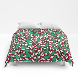 Candy Canes Comforters