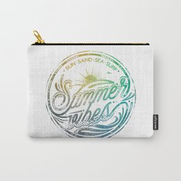 Summer vibes - typo artwork Carry-All Pouch