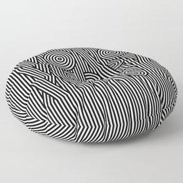 Mono Merry Xmas Floor Pillow