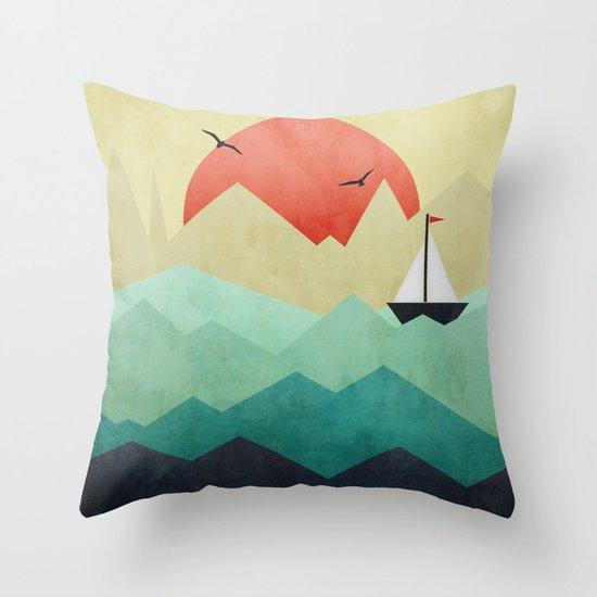 Ocean Adventure Throw Pillow