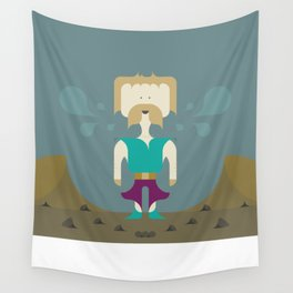I Fight With Words, Human! Wall Tapestry