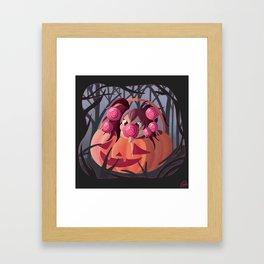 Halloween Candy Framed Art Print