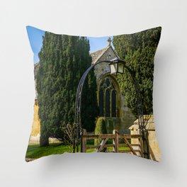 Church Arches Throw Pillow