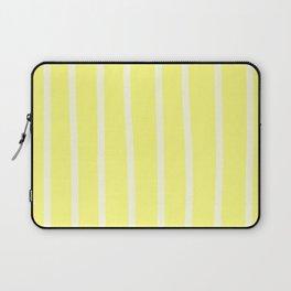 Butter Vertical Brush Strokes Laptop Sleeve
