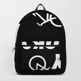 Is My Bike OK shirt for dirt bike and mountain bike lovers Backpack