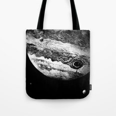 Jupiter & 3 Minions Tote Bag
