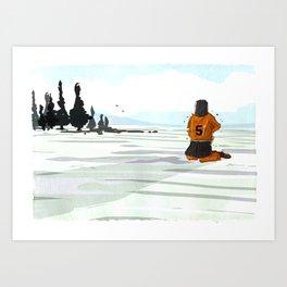 Lonely Art Print
