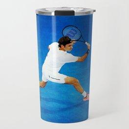 Roger Federer Sliced Backhand Travel Mug