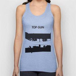 Top Gun Communicating  Unisex Tank Top