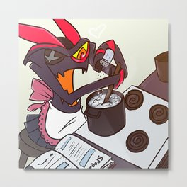 Kamui Cooking Metal Print