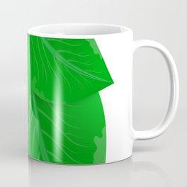 Green leaves Coffee Mug