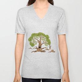 Stop Tree Cutting Nature Environment Trees Ecosystem Environmentalist Gift Unisex V-Neck