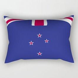 New Zealand flag emblem Rectangular Pillow