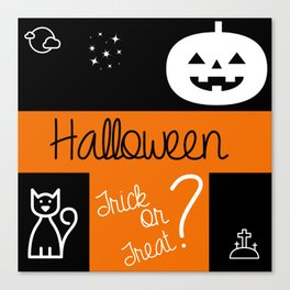 halloween! Canvas Print