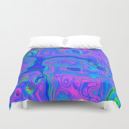 Psyche Me Out Duvet Cover