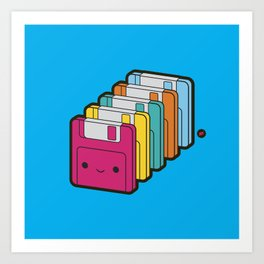 1.44MB Rainbow Art Print