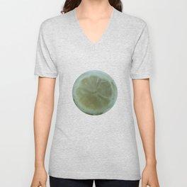 Slice of Lemon – Watercolour Unisex V-Neck