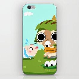 Monster Hunter - Felyne and Poogie iPhone Skin