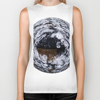 ice Biker Tanks featuring Ice by Rose Etiennette