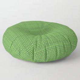 Green Sweater pattern Floor Pillow