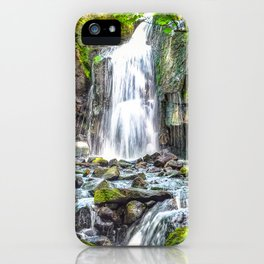 waterfall. iPhone Case