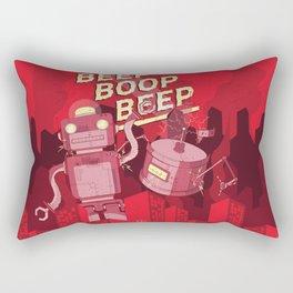 Beep Boop Beep Rectangular Pillow