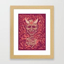 Oni-Firaga Framed Art Print