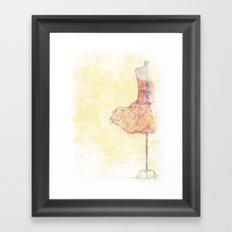 Dancer In Waiting Framed Art Print