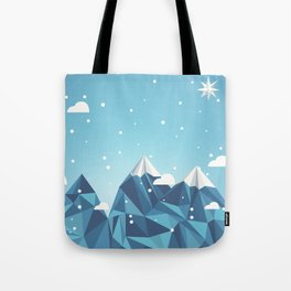 Cool Mountains Tote Bag