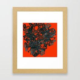 I'm going through changes Framed Art Print