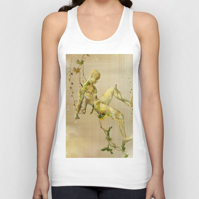 The man vegetable Unisex Tank Top