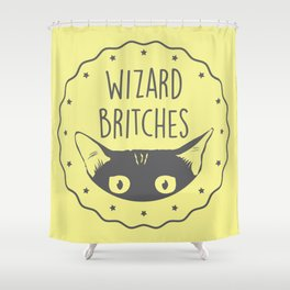 WIZARD BRITCHES Shower Curtain