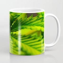 Marijuana leaf. Coffee Mug