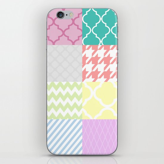 Multi Patterned iPhone & iPod Skin