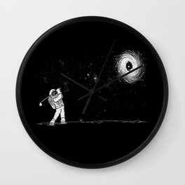 Black Hole in One Wall Clock