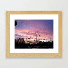 Good Morning, the Sun Says Hello Framed Art Print