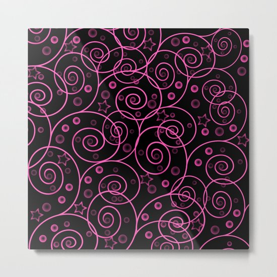 Abstract pattern. Metal Print