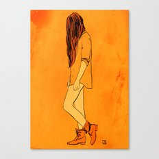 These Boots... Canvas Print